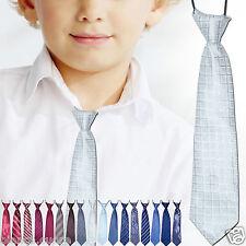 CRAVATTA BAMBINO cravattino argento 2/8 anni grigio argentato TANTI COLORI D0481
