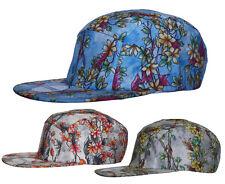 R C Headwear Vine All Over Floral Print 5 Panel SNAPBACK Cap Hat Snap Back