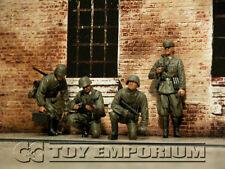 "Custom  Built  1:35  WWII  German  ""LAH  Division""  FOUR   Figure  Soldier   Set"