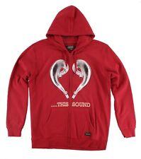 MENS FMF RACING LOVE THIS SOUND RED HOODY SWEATSHIRT SX MX 2 STROKE L XXL
