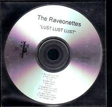 RAVEONETTES Lust Lust Lust DJ CD ALBUM fierce panda uk