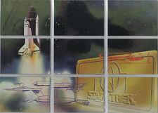 STAR TREK 30 YEARS PHASE 3 SPACE MURAL SINGLE CARDS