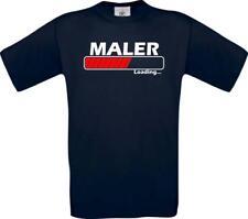 Männer-Shirt Maler Loading
