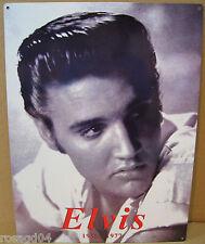 16X12 Elvis Presley Portrait 1935-1977 Enamel Heavy Metal Wall Sign Made England