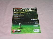 Fly Rod Reel Magazine March 2008 Steelhead 7 Knots Pike Fly Tying Boots