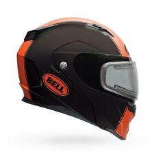 Bell Modular Revolver EVO Snowmobile Double Shield Helmet XS-2XL Matte Orange
