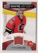 Henrik Karlsson 2012-13 Upper Deck Jersey Card #GJ-HK