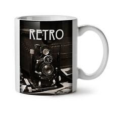 Retro Photo Camera Vintage Foto NEW White Tea Coffee Mug 11 oz   Wellcoda