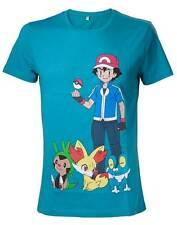 Pokémon T-Shirt Mens T-Shirt Green with print Green
