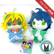 "Japan Sanrio Show by Rock!! 7"" Trichronika Shu Zo Kai Cat Plush Doll Rare FuRyu"