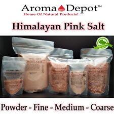 Pink Crystal Himalayan Sea Salt 84 Minerals FDA Kosher Gourmet Bulk Pure Organic