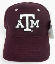 TEXAS A M AGGIES MAROON NCAA VINTAGE FITTED SIZED ZEPHYR DH CAP HAT NWT 7c105974da2f