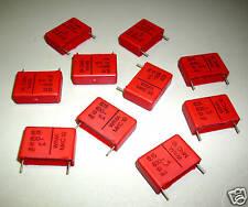 10x Wima Membrane Capacitor 0,15 uF 630V M0591