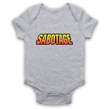 SABOTAGE UNOFFICIAL THE BEASTIE BOYS BABY GROW BODYSUIT BABYGROW BABIES ONESIE