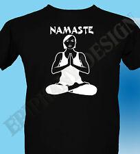 Buddah T-Shirt Yoga Zen Buddhism Namaste Inner Calm 3XL 4XL 5XL Original Gift