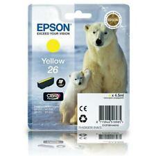 C13T26144010 Yellow Epson 26 Polar Bear Series Genuine Ink Cartridge T2614
