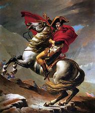 Jacques David - Napoleon Crossing the Alps Vintage Fine Art Print
