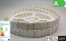 1m 3-Reihen LED Streifen/Strip 24V - 180x 1-Chip-SMDs/m - warm-weiß (3000k) IP30