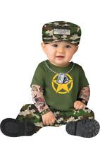 Boys Baby Toddler Sergeant Duty Army Uniform Fancy Dress Costume