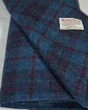 Harris Tweed Fabric & labels 100% wool Craft Material - various Sizes code.sep62