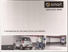 2009 09 Smart Fortwo & Brabus Accessories Original Sales brochure