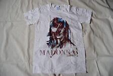 Madonna MDNA T Shirt Nouveau Officiel comme une prière vierge bleu véritable RARE HMV
