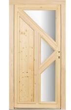 kuporta Holz Haustür > Schrecksbach <  Holztür Türen Eingangstür Drücker Fichte