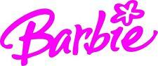 Logotipo #1 Pegatina de vinilo de Barbie Artesanía/coche/van/pared/de la puerta/Laptop/Tablet/marco De Regalo