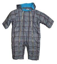 Baby Winteranzug Overall Winterjacke Skianzug Kinder Anzug Schneeanzug Blau