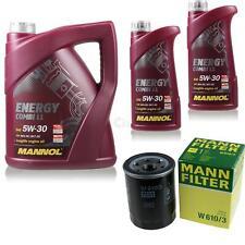 Ölwechsel Set 7L MANNOL Energy Combi LL 5W-30 + MANN Ölfilter Service 10046419