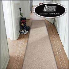 Moderne Läufer beige Teppich Korridor Flur Diele Breite 50, 60, 70 cm Teppiche
