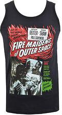 Para Hombre Chaleco fuego doncellas desde el espacio exterior Alens Sci Fi Terror Monstruos S-2XL