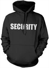 Security Guards Uniform Unisex Hoody - Black Fancy Dress Costume Hoodie