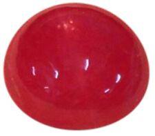 Natural Extra Fine Vivid Red Ruby - Round Cabochon - Madagascar - Extra Fine Gra
