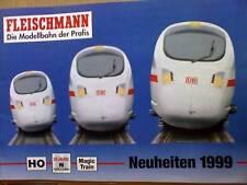 Catalogo Fleischmann Novità 1999 Tedesco