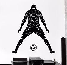 Vinyl Wall Decal Footballer Football Player Ball Soccer Player Stickers (1129ig)
