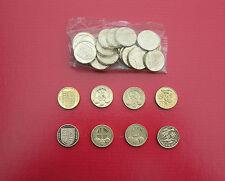 Selección de Circular £ 1 (una libra) Monedas-gran moneda británica caza