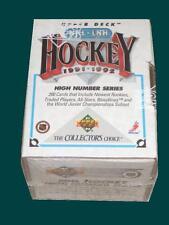 1991-92 Upper Deck Hockey High Number Series Factory Sealed Set Keith Tkazcuk RC