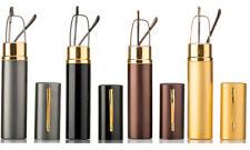 4 Pack Slim Reading Glasses in Compact Aluminium Hard Case, Various Combinations
