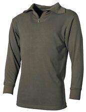 BW Felpa Jersey De Cuello Vuelto Camiseta interior Ejército Ropa Hombre Algodón