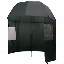 Angelschirm Anglerschirm Regenschirm Schirmzelt mit Seitenwand 240/300 x 210 cm