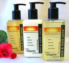 NEW DAWN SKIN & HAIR CARE GIFT SET - Organic Handmade Lotion, Shampoo and Wash