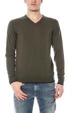Maglia Armani Jeans AJ Sweater Pullover -60% Uomo Verde U6W75TT-16 SALDI