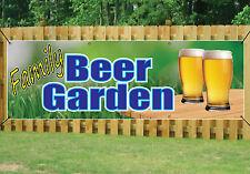 Famiglia Pub Beer Garden Banner segno All'Aperto Impermeabile in PVC con occhielli