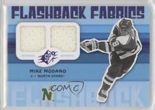 2009-10 SPx #200 Flashback Fabrics Mike Modano Minnesota North Stars Hockey Card
