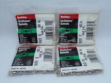 1pack Berkley McMahon Swivels Fishing Bulk Pack 144pcs Choose Size