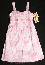 NWT Girls size 12 white pink ROXETTE dress Spring wedding shower graduation CUTE