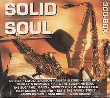 SOLID SOUL 3 CD Sister Sledge SABRINA Nina Simone SAM COOKE Al Jarreau OSIBISA