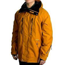 Quiksilver Eastwood 15 Waterproof Brown Ski Snowboard Mountain Jacket M Mens