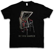 Retro Gamer T-shirt Gaming admin PC Fun GRANDFATHER NONNO Geek Nerd Freak DEAMBULATORE